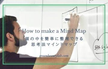 頭の中を簡単に整理できる思考法マインドマップ