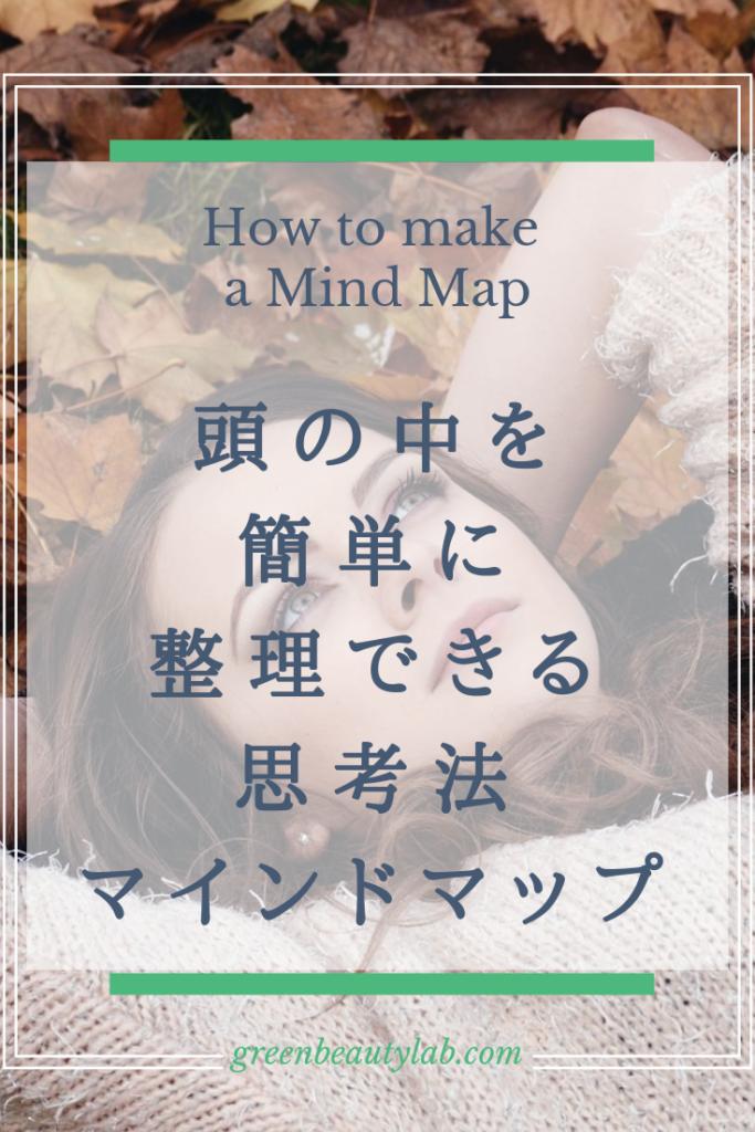 マインドマップの作り方